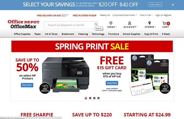 Office Depot cheap office supplies